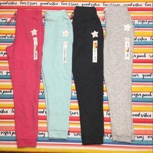 Bundle of fleece jogger pants